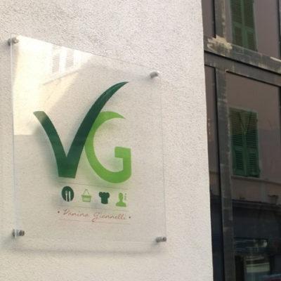 création logo bastia restaurant VG corse