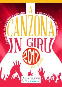 Brochure A Canzona in giru 2017