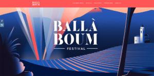 site internet festival ballà boum