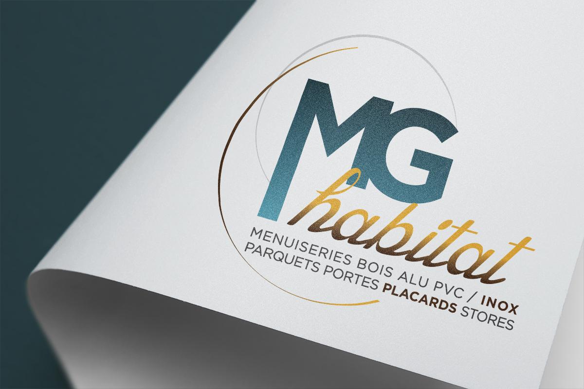 création logo Corse MG habitat Ajaccio