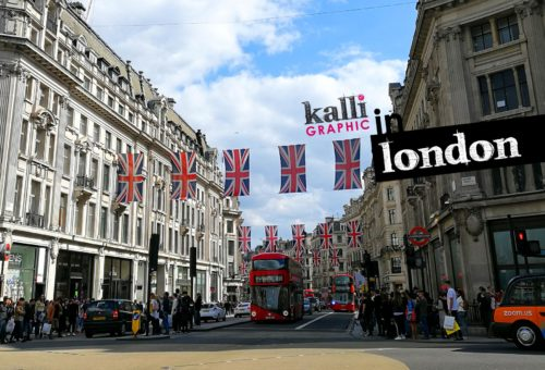 londres kalli graphic