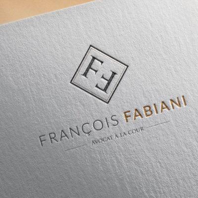 création logo avocat Bastia Fabiani kalli graphic