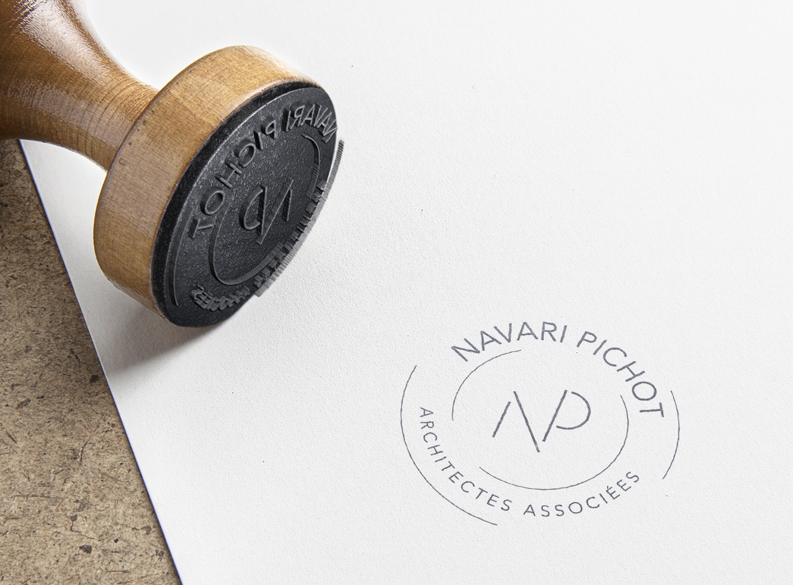 Logo Navari Pichot architectes Bastia